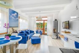 Apartament A - salon