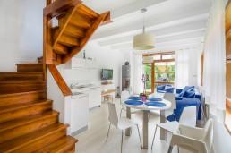 Apartamento B - vista de las escaleras